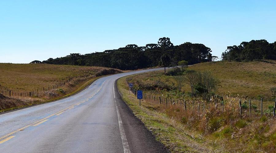 Estrada para Treino