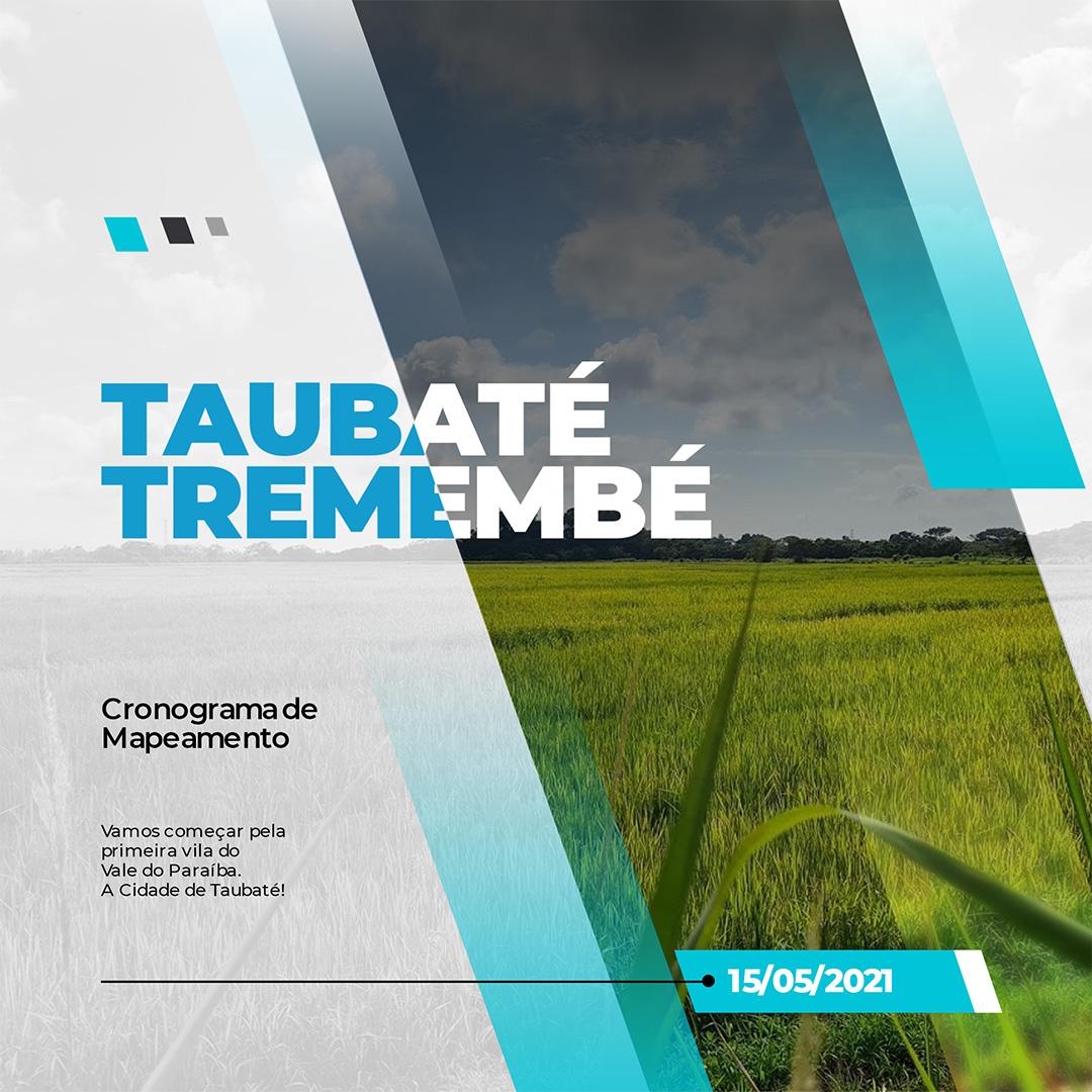 Mapeamento Taubaté Tremembé